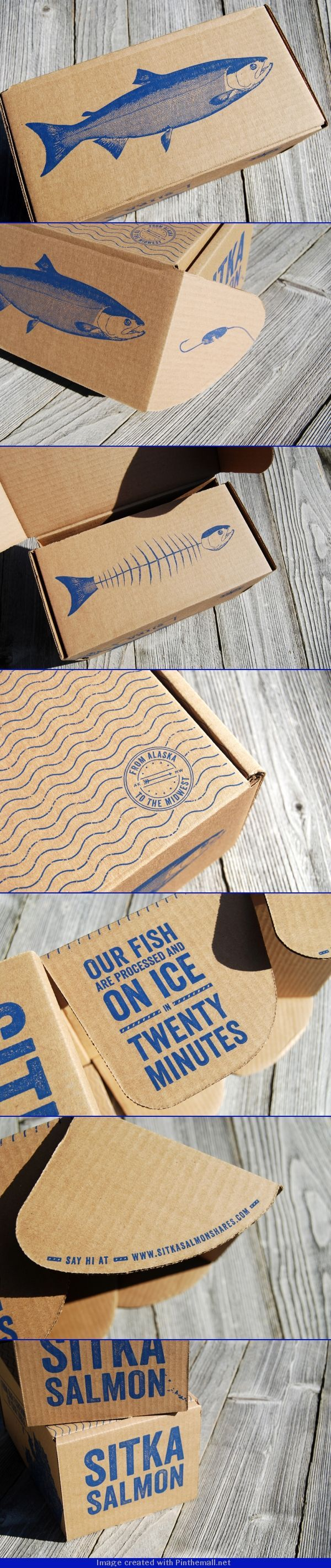 Sitka Salmon Packaging.