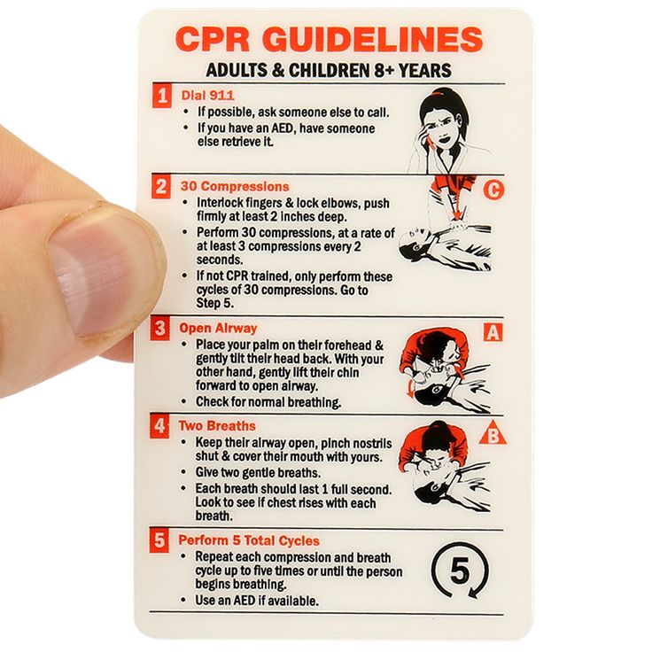 Cpr guidelines sign steps of cardiopulmonary