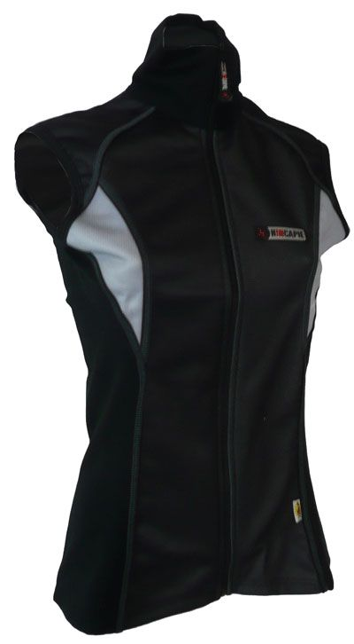 Hincapie Womens Black and Gray Ultimate Vest - Classic Cycling