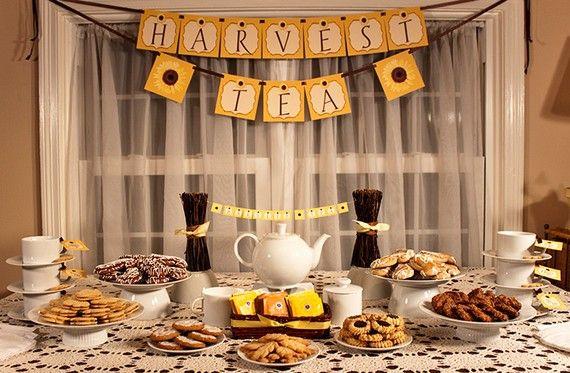 fall tea party