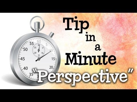 This is awesome!  Understanding 1, 2 & 3 Point Perspective in under 1 minute!