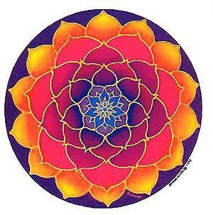 Golden Lotus mandala Fractals