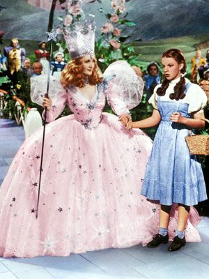 The Wizard of Oz, Billie Burke and Judy Garland
