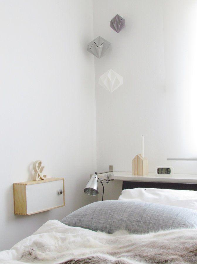 17 Platzsparende Nachttische Perfekt Fur Ihr Kleines Schlafzimmer