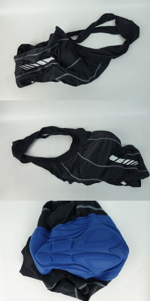 Shorts 177853: New Descente Prologue Mens Cycling Bib Shorts Size M Padded Compression 10083 -> BUY IT NOW ONLY: $37.99 on eBay!