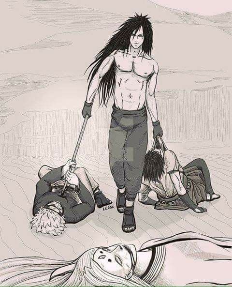 Madara Uchiha killing everybody, even Kaguya, Naruto and Sasuke ♠ He's too damn powerful ♥♥♥ #GodOfShinobi #War #Hot