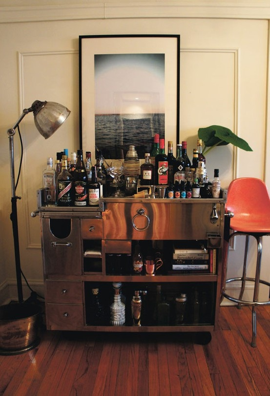 If Youre Hoping To Elevate The Mood In Your Home A Well Tended Bar Will Do Trick And Who Better Share Tips On How Style Stock Than