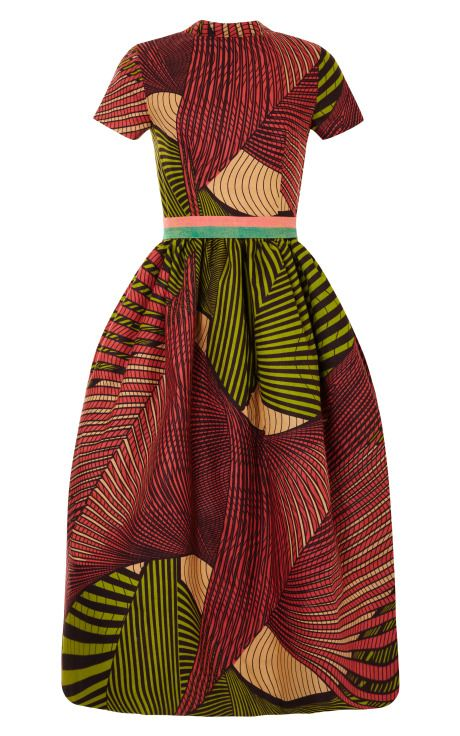Stella Jean via Moda Operandi. #Africanfashion #AfricanClothing #Africanprints #Ethnicprints #Africangirls #africanTradition #BeautifulAfricanGirls #AfricanStyle #AfricanBeads #Gele #Kente #Ankara #Nigerianfashion #Ghanaianfashion #Kenyanfashion #Burundifashion #senegalesefashion #Swahilifashion DK