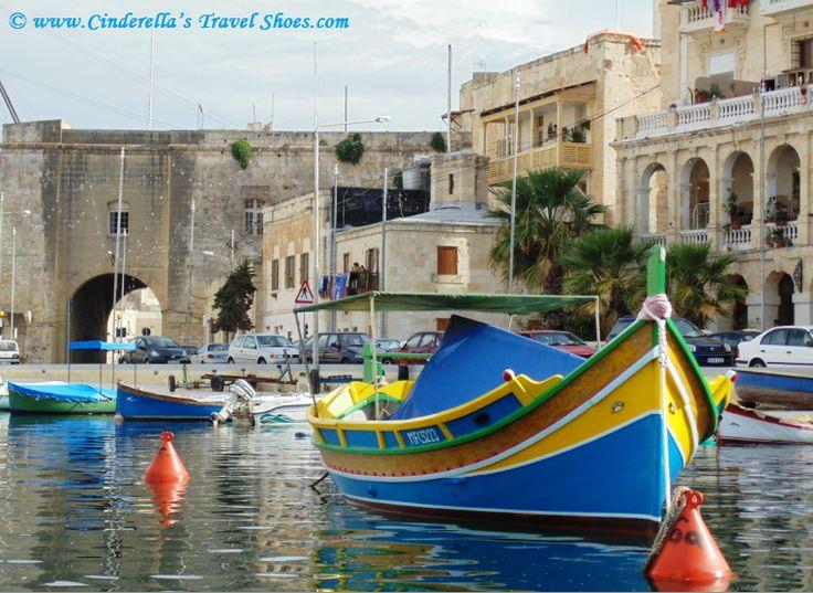 Colorful boats in #Malta