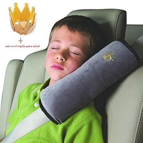 Oferta: 2.2€. Comprar Ofertas de Koly Ajustador Resistente Protección del hombro almohada de seguridad del coche para niños (Gris) barato. ¡Mira las ofertas!