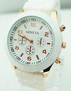 Zegarek biały geneva   Cena: 16,00 zł  #nowyzegarek #fajnyzegarek