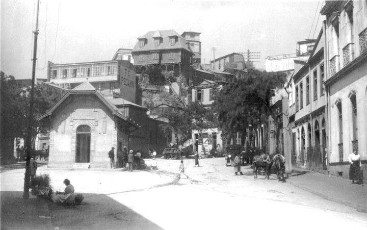 Plazuela Ecuador 1890