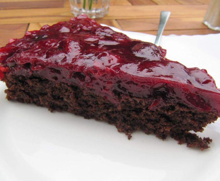 Rezept Schokoladen-Kirsch-Kuchen von Towanda111 - Rezept der Kategorie Backen süß
