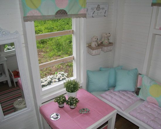 21 best images about cubbies on pinterest play houses for Interior playhouse designs