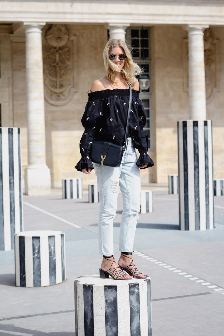 street style, summer outfits, street style 2017, summer, trends, off shoulder, blogger style, summer look,