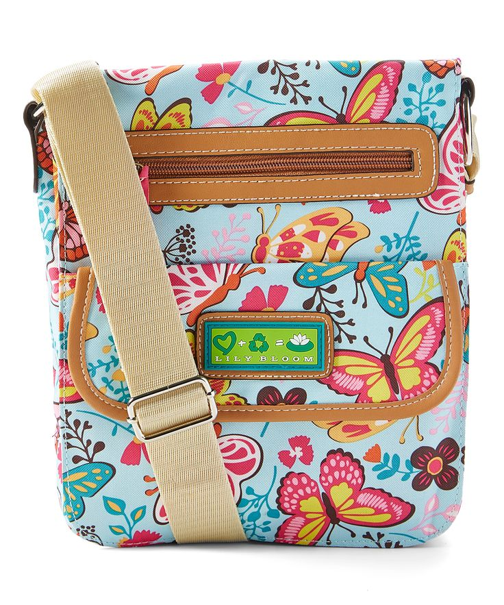 Woodland Butterfly Cameron Tablet Case Crossbody Bag