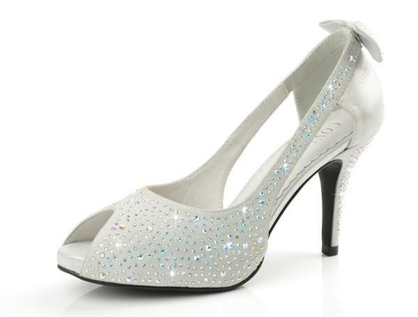 Luxe Diamant Du Femmes De Mariage Chaussures QxshtrdC