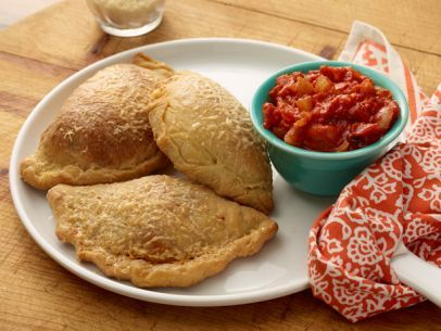 Pepperoni Pizza Pockets: Food Network, Pizza Pockets, Pepperoni Pizza, Jeff Mauro, Pockets Recipes, Easy Recipes, Foodnetwork, Pizza Dough, Families Favorite