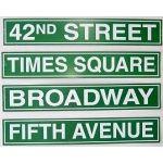 NYC / Broadway Room Decor