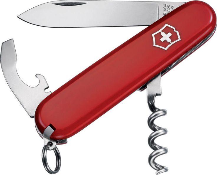 Victorinox Swiss Army Pocket Knife WAITER / BARTENDER Corkscrew Bottle Opener  #Victorinox www.swisspocketknivesonline.com