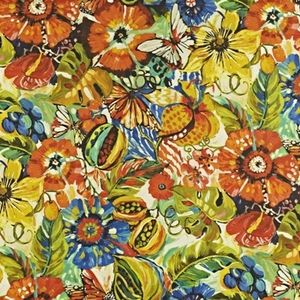 Tropical Garden Tropical 59% linen/ 41% cotton 139cm wide | 96.50cm repeat Dual Purpose