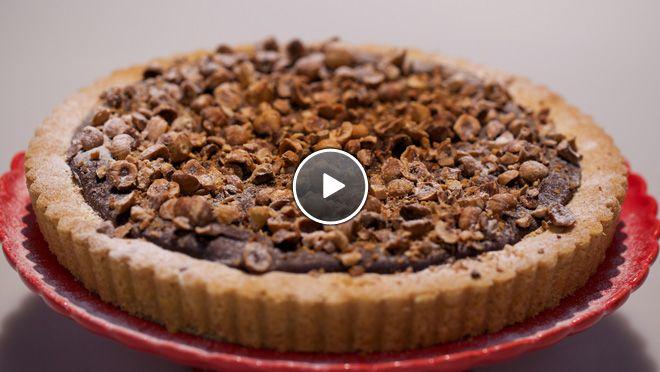 Hazelnoot-karameltaart - Rudolph's Bakery | 24Kitchen