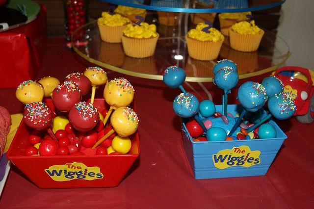 Wiggles Cake Pops