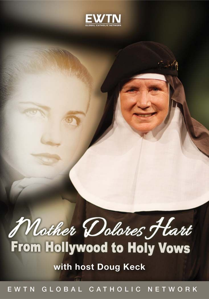 "(via Jennifer MacDonald) EWTN: July 26-28, 6:30 PM ET (30 min)  ""A very special 3-episode EWTN miniseries interview. Doug Keck talks with Mother Dolores Hart about her early life and conversion to Catholicism, her luminous and seemingly effortless ascent to Hollywood fame, the sensation she and the young Elvis Presley..."""