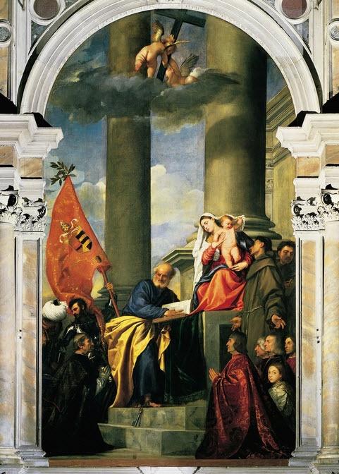 Titian - Madonna of Ca' Pesaro