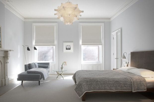Studies have shown that the best colour combinations for a great night's sleep are a mix of pale or pastel green, blues and greys. These colours promote relaxation, reduce heart rate and decrease blood pressure. These are all important features that could drastically improve the quality of sleep you get. On the contrary, warm colours such as red, orange and yellows increase heart rate and blood pressure, which can contribute to a more stressed, low quality sleep.