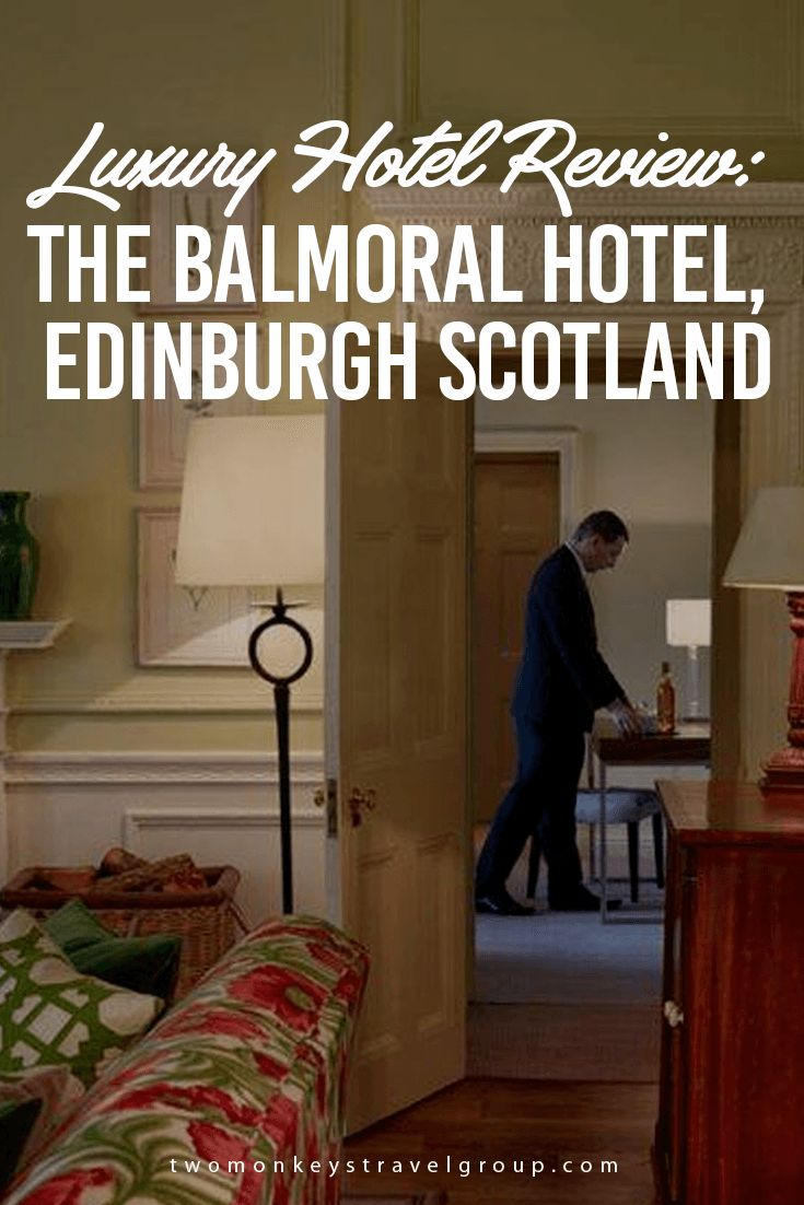Luxury Hotel Review: The Balmoral Hotel, Edinburgh Scotland  When we were in Edinburgh Scotland, my mom and I checked in early at this fantastic 5 – star property, The Balmoral hotel. It is actually located in the heart of Edinburgh, at the corner of the Old and New Town. I was so excited to see what's inside because their online photos are so wonderful, and the actual facade is incredible. We couldn't wait what is in store for us.