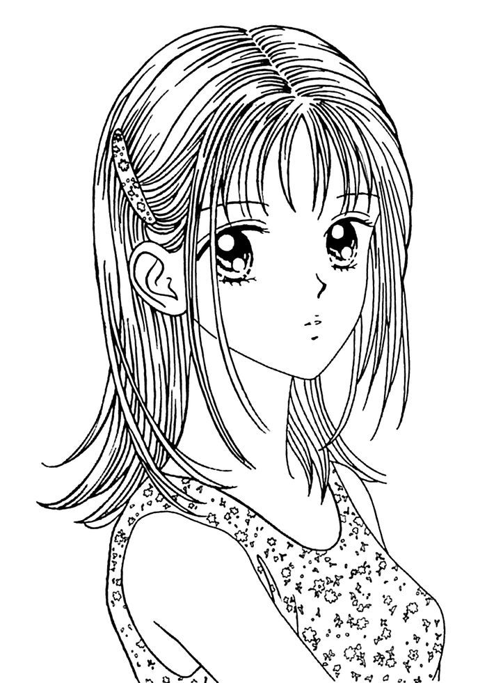 Anime Coloring Pages In 2020 Manga Coloring Book Cartoon Coloring Pages Cute Coloring Pages