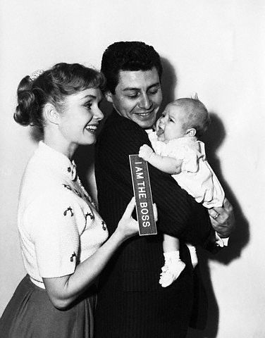 Debbie Reynolds, Eddie Fisher, and Carrie Fisher