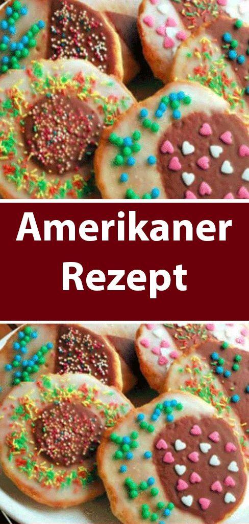 Amerikaner Rezept