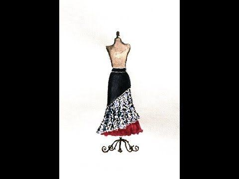 Triana Skirt Tutorial. How to cut and sew your flamenco dance skirt. Tutorial Falda Triana. Como hacer una falda de baile flamenco fácil