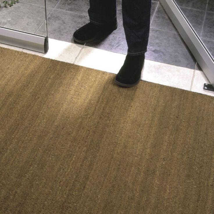 Heavy Duty Commercial Grade PVC Backed Coir Matting