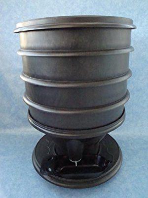 Eco-Worms - Lombricomposteur ECO-WORMS coloris noir