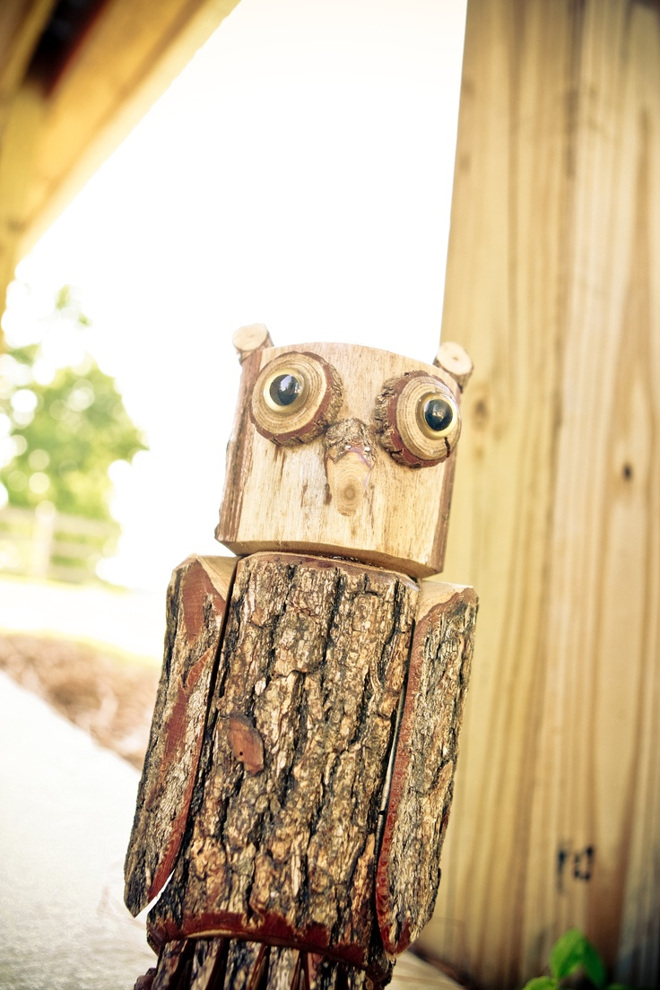 wooden owl idea for dad night!!