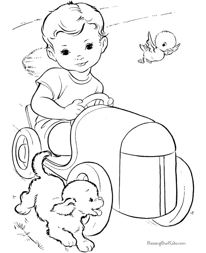 These Free Printable Cars Coloring Pages Are Fun For Kids Toy Car Book Page 001