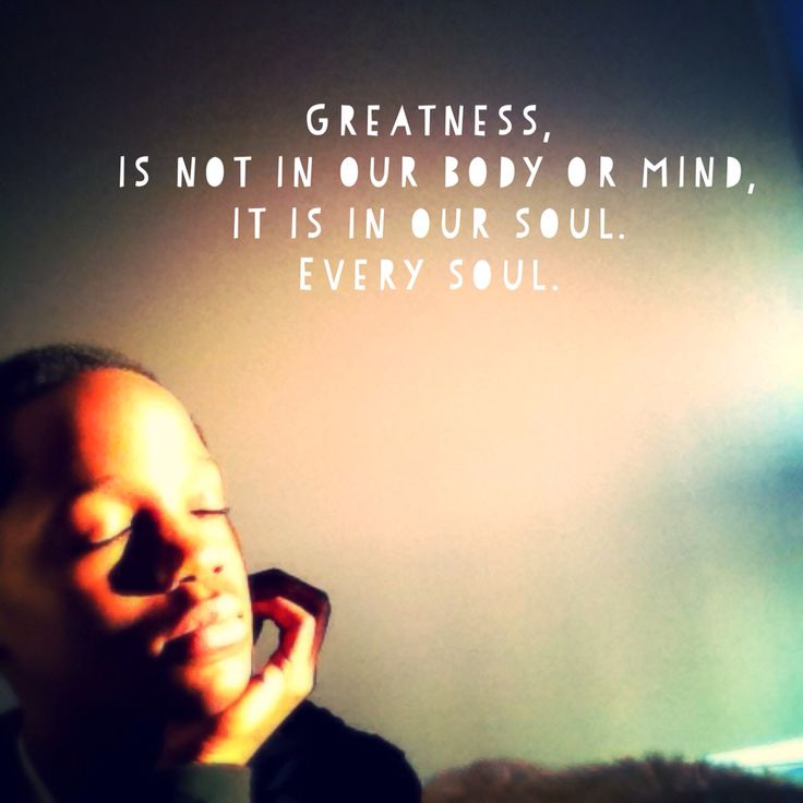 How far away is greatness? Well, it actually comes built into everyone of us and ignited by the things we love and express. Unavoidable it is.
