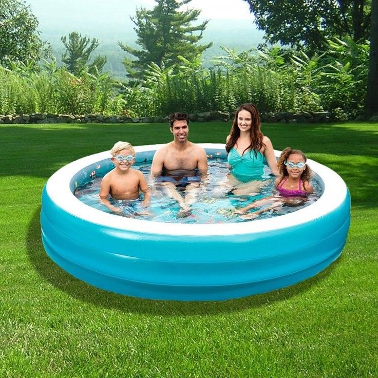 Outdoors Inflatable Swimming Pool Patio Family Garden Kids 3D Goggles Children #OutdoorsInflatableSwimmingPool