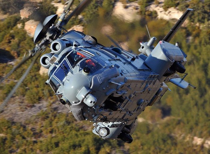 Le H225M Caracal est équipé de deux turbines Turbomeca Makila 2A. © Airbus Helicopters
