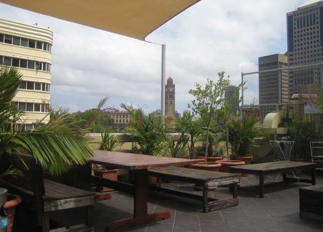 A View of the Big Hostel, Sydney from outside the resort. One of the renowned resorts in Sydney, Australia.