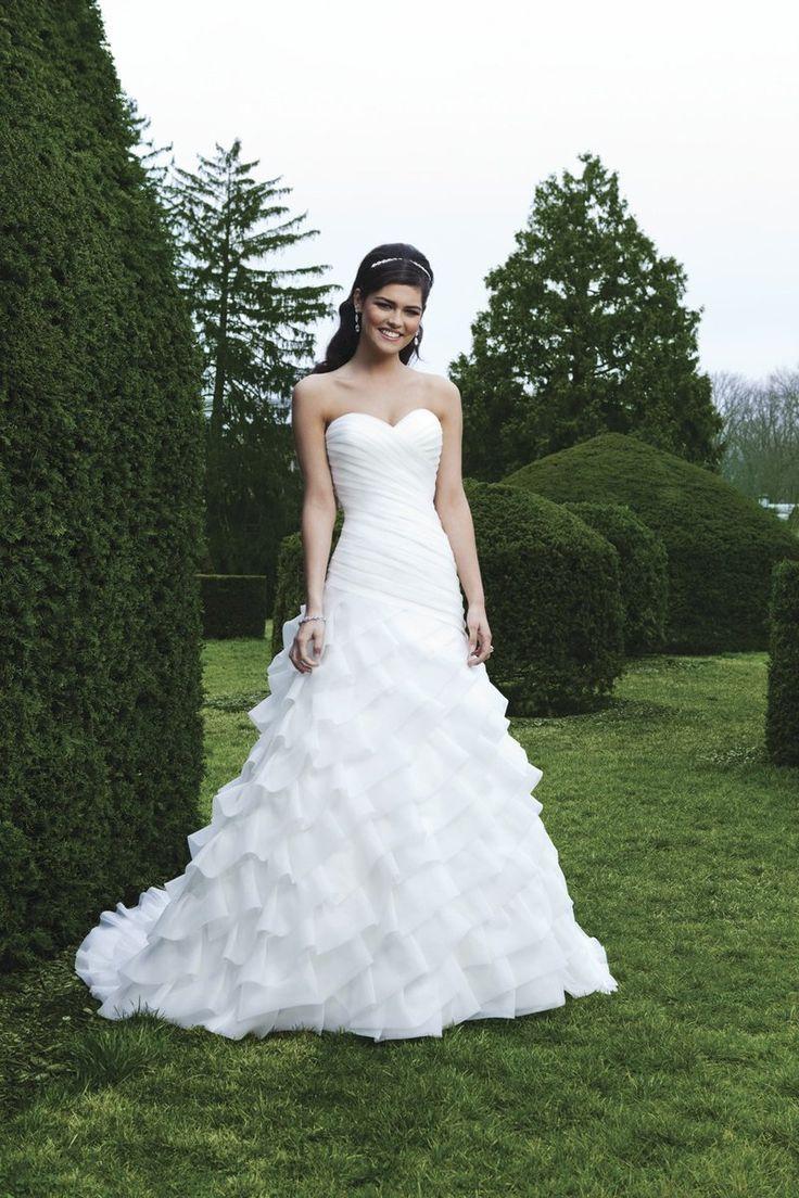 529 besten wedding dress Bilder auf Pinterest | Brautkleider ...