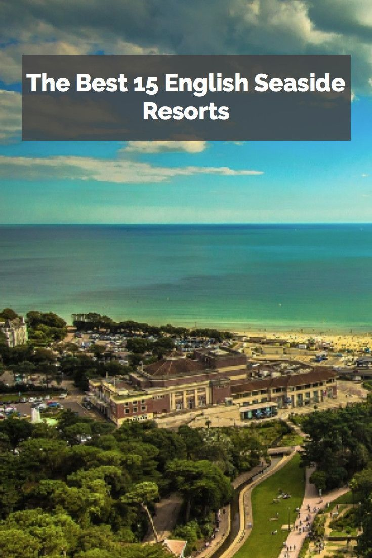The blue seas of Bournemouth make it one of England's best seaside resorts!
