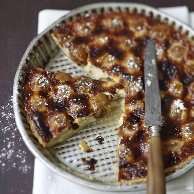Découvrez la recette du clafoutis aux mirabelles et Carambar