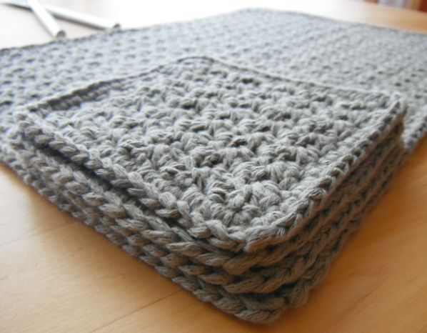 Placemat Coaster Set Crochet Vintage Phone Case And Nice