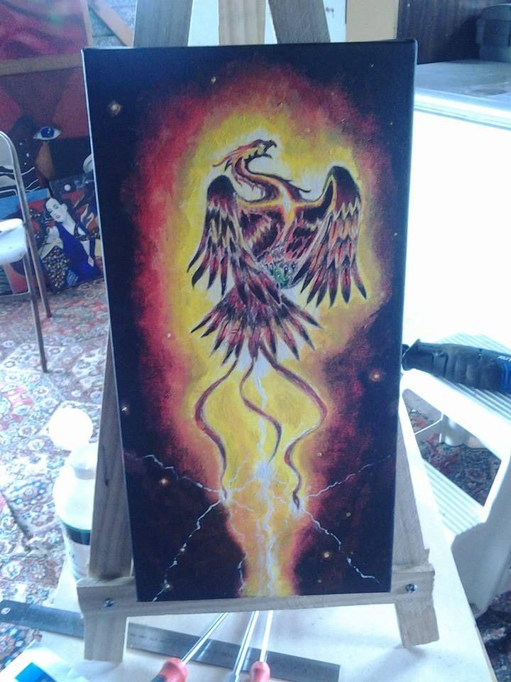 Old image reborn as A Thunder bird.