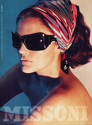 Drew Barrymore #Missoni #sunglasses