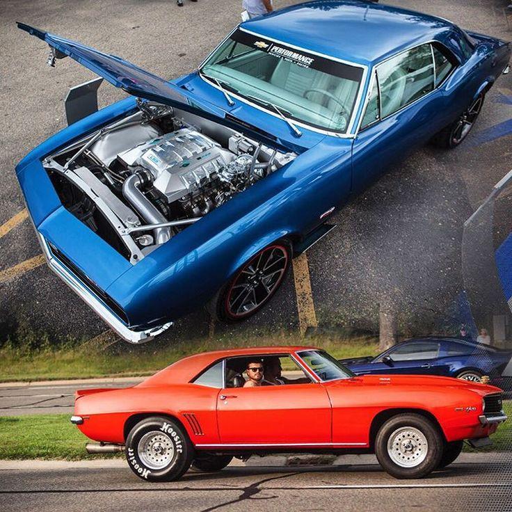 67 Camaro Blue Ls3 Engine Swap Ls Engine Cover Chrome